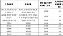 科瑞技术IPO:网上中签号码共7.38万个 网下8名投资者为参与申购