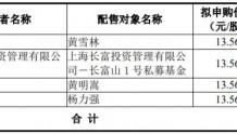 景津环保IPO:网上中签号码共3.65万个 网下4名投资者未参与申购