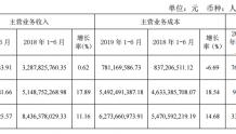 天士力2019年上半年主营业务收入93.78亿 蒂清销售增长