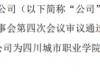 洪涛股份为四川城市职业学院1亿元银行授信提供连带责任保证担保