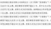麦格米特向招商银行申请综合授信额度3亿元