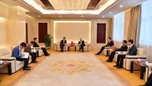 河北省国有资产控股运营有限公司一行参访全国股转公司投资者教育基地