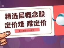 子沐研究精选层日报:发行定价打乱二级市场投资者心态 贝特瑞再次放量下跌(3月24日)