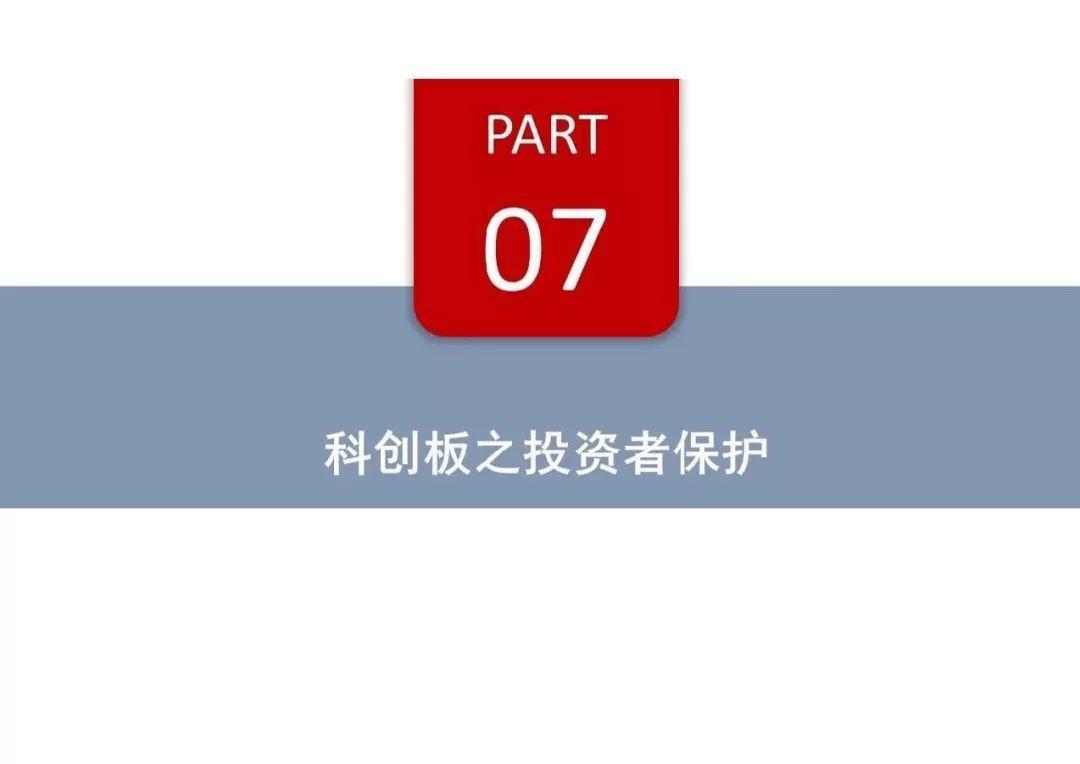 科创板培训PPT